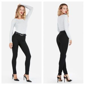 Express Mid Rise Extreme Stretch Skinny Pants